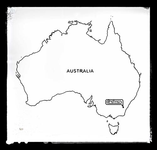 Map of Australia - Colouring Sheet