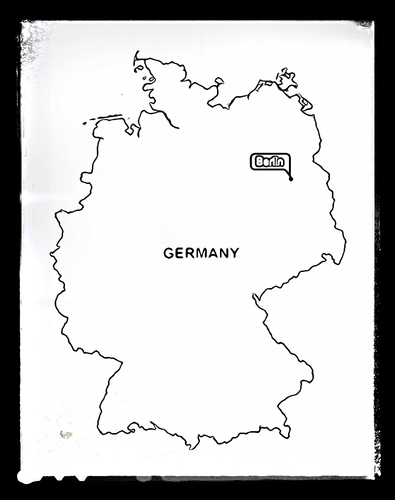 Map of Germany - Colouring Sheet