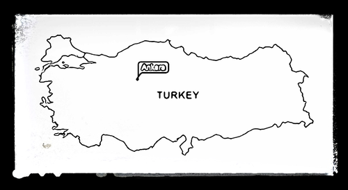 Map of Turkey - Colouring Sheet