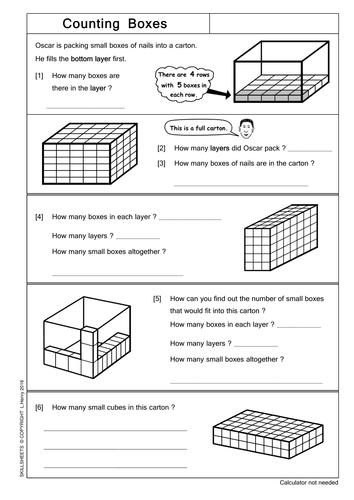Printables Volume Counting Cubes Worksheet counting cubes worksheets versaldobip counting