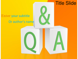 Question and answer ppt template by templatesvision teaching question and answer ppt template toneelgroepblik Choice Image