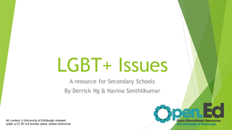 LGBT--Issues-for-Secondary-Schools.pptx