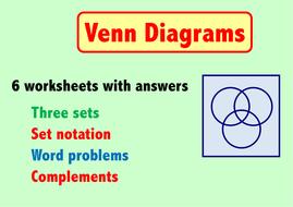 Venn diagrams 3 sets by skillsheets teaching resources tes venn diagrams 3 sets ccuart Choice Image