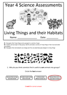 Y4---Living-Things---Habitats-(Answers).docx