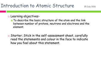wjec topic 2 atomic structure and the periodic table new spec 2016 - Periodic Table A Level Wjec
