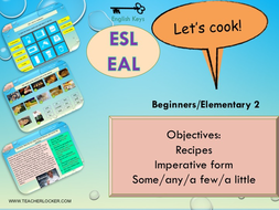 Esl unit 5 food lesson 3 recipes imperative form some esl unit 5 food lesson 3 recipes imperative form some forumfinder Choice Image
