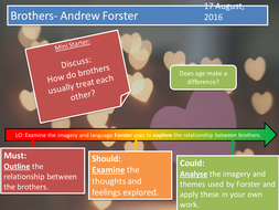 Brothers- Andrew Forster