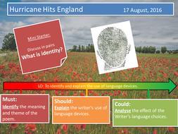 Hurricane Hits England- Grace Nichols