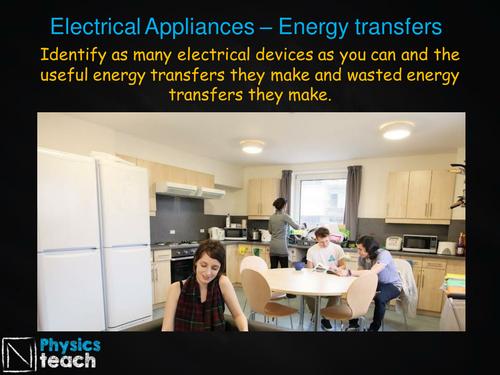 GCSE AQA Physics - P1.8-9 -  Electrical Appliances, Energy and Power
