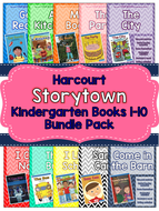 Guided Reading Packs: Storytown Kindergarten Books 1-10