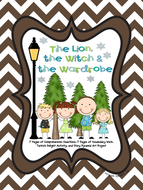 The Lion, the Witch, and the Wardrobe {Novel Study & Pyramid Art Project}