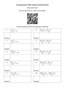 Solving-Equations-With-Fractions-Homework-Sheet---Questions.docx