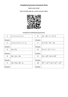 Simplifying-Expressions-Homework-Sheet---Questions.docx