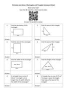 Perimeter-and-Area-of-Rectangles-and-Triangles-Homework-Sheet---Questions.docx