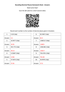 Rounding-(Decimal-Places)-Homework-Sheet---Answers.docx