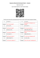 Sequences-(Numerical)-Homework-Sheet-1---Answers.docx