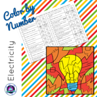 Electricity Colour-by-Number