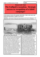 Was the Gallipoli evacuation a strategic success or the recognition of a failed strategy?
