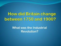 how did britain change between 1750 and 1900