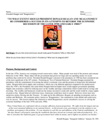 Ronald-Reagan-and-debate-on-success-or-failure-of-reaganomics.docx