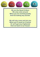 Quiet Critters poem