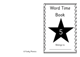 Phonics Read Write Inc Set 1 Word Time Books by