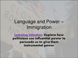 Language-and-Power---Immigration.ppt
