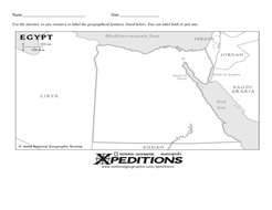 Ancient egypt nile river valley geography map activity worksheet ancient egypt nile river valley geography map activity worksheet ibookread PDF