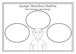George's Marvellous Medicine novel study- worksheets