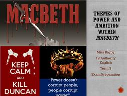 power corrupts macbeth