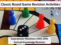 Cold War; Superpower Relations (Revision Games)