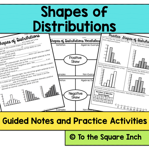 statistics 6th grade math guided notes and activities bundle by katembee teaching resources tes. Black Bedroom Furniture Sets. Home Design Ideas