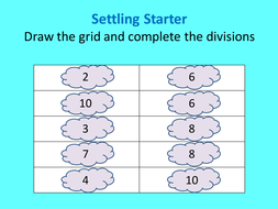 Odd and even numbers lesson