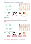 KS3 Spanish starter – numbers 1 to 10