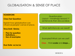 globalization in a sentence