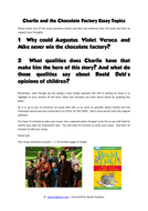 charlie and the chocolate factory essay topics by  charlie and the chocolate factory essay topics pdf