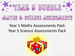 Year 5 Maths and Science Assessments and Tracking