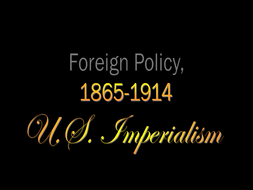 Advanced Placement- US History Teacher Notes/ PowerPoint Presentation for  American Imperialism
