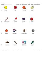 Worksheet: What does not belong? (\
