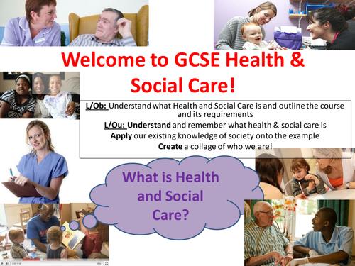 EdExcel GCSE Health & Social Care- Unit 1- Human Growth & Development- Welcome to HSC!