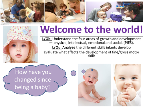 EdExcel GCSE Health & Social Care- Unit 1- Human Growth & Development- Welcome to the world!