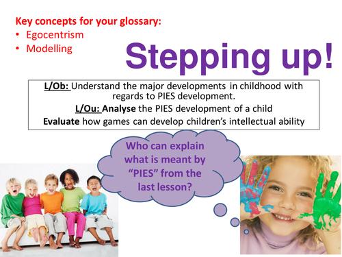 EdExcel GCSE Health & Social Care- Unit 1- Human Growth & Development- Stepping up!