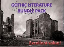 Gothic Literature Bundle Pack