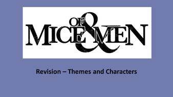 of mice and men themes powerpoint