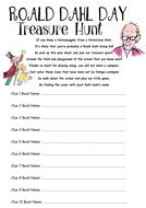 Roald Dahl Treasure Hunt