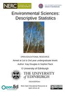 Environmental-Sciences-Descriptive-Statistics.docx
