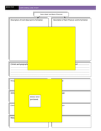Revision Worksheet Cwm Idwal Glaciation A Level