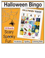Halloween Bingo (Regular Size)