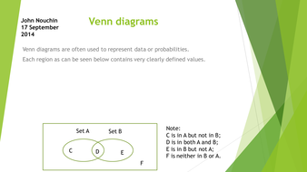 Using a Venn diagram to solve probability problems