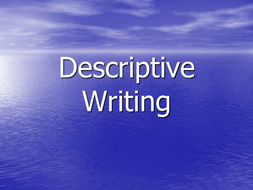 Descriptive Writing  Resources For Gcse English By Laurah  Descriptive Writing  Resources For Gcse English English Essay Writer also Compare Contrast Essay Papers  Essay On Health Promotion